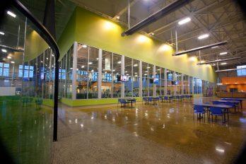 Arena Sports Magnuson seating area