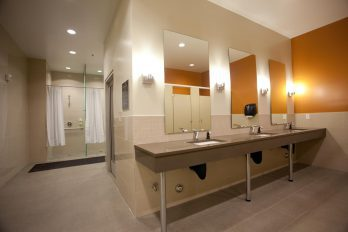 Magnuson Athletic Club shower facilities