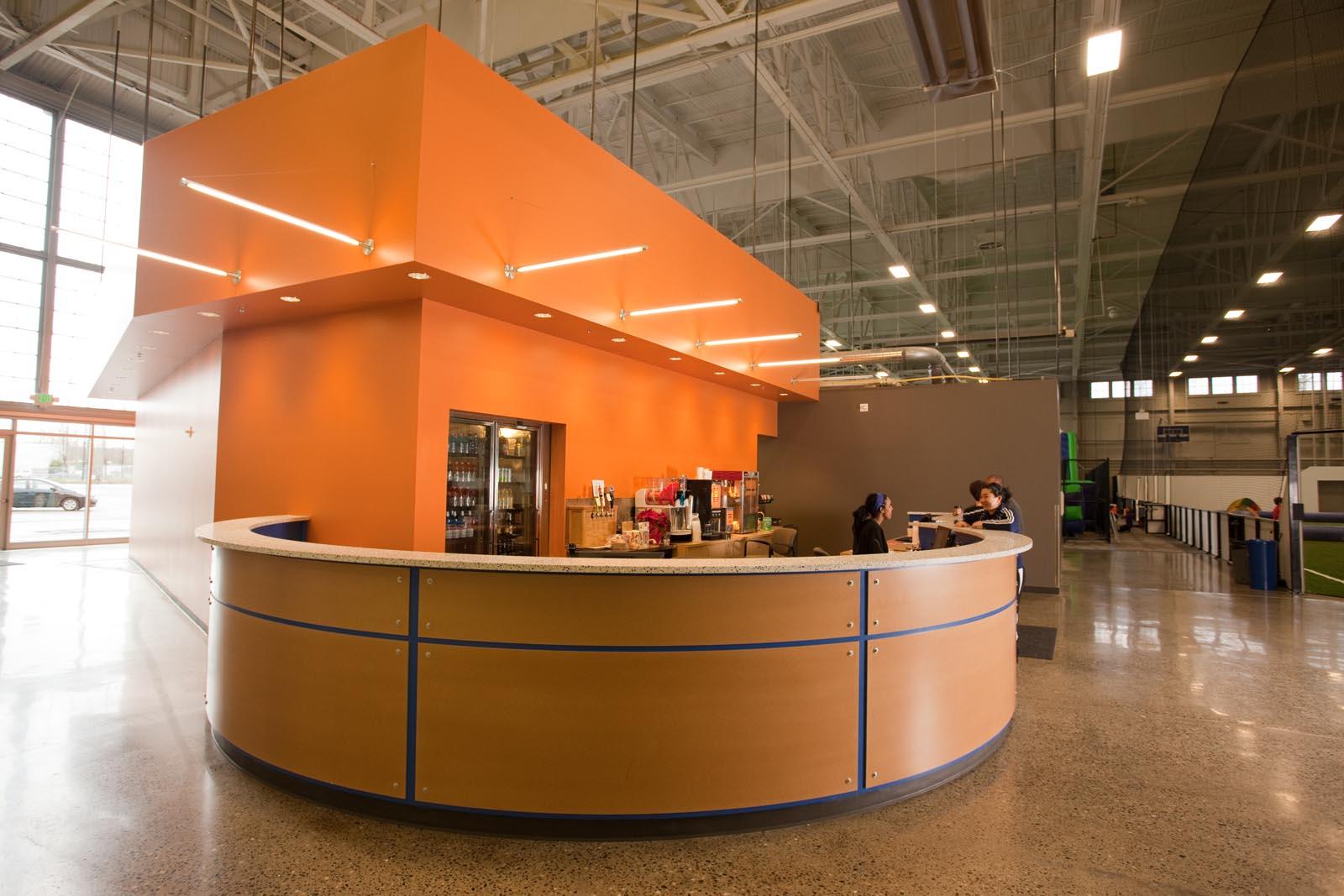 Arena Sports Magnuson front desk