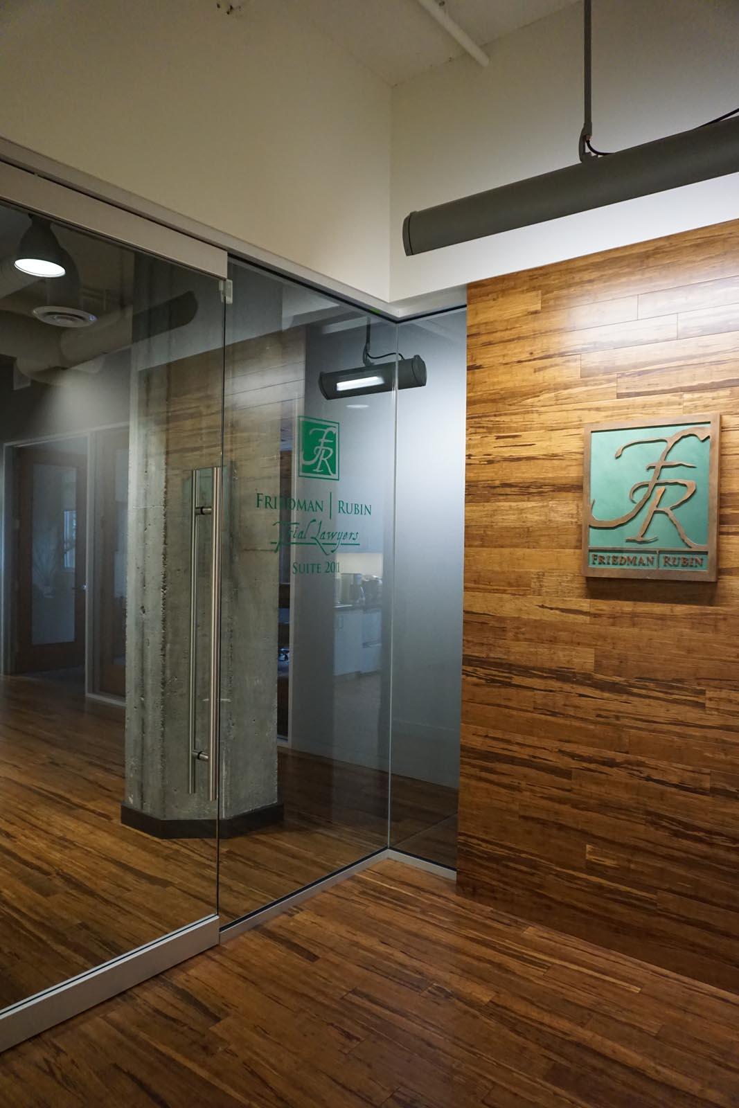 Friedman Rubin wood flooring and sliding door