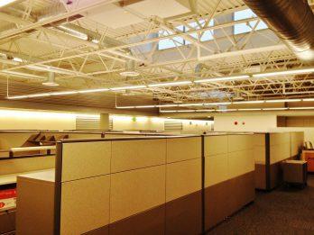 Puget Sound Energy Kent desk area