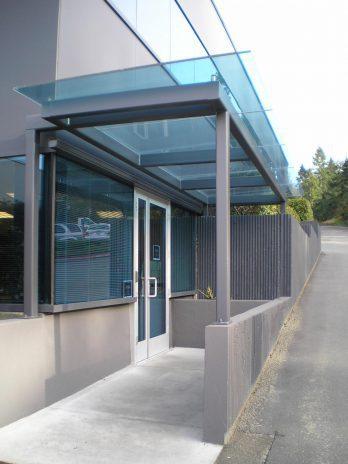 Quantum Office Bldg exterior entry