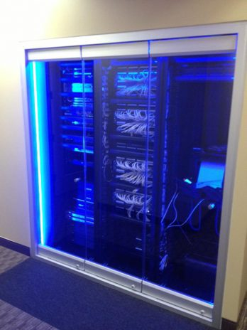 Regus control systems and cabinet